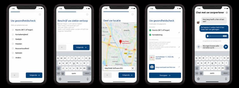 PAQT maatwerk mobiele app